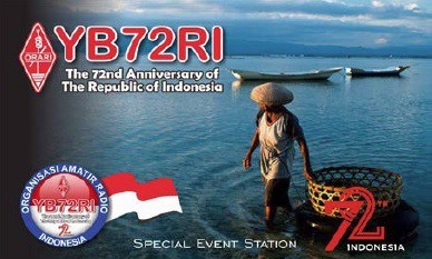 YB72RI Indonesia Independence 72 years Award