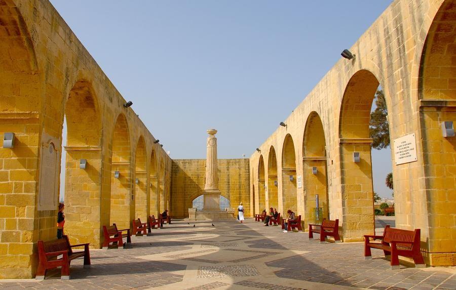 9H3EE La Valletta: bastione di San Pietro e Paolo, Malta.
