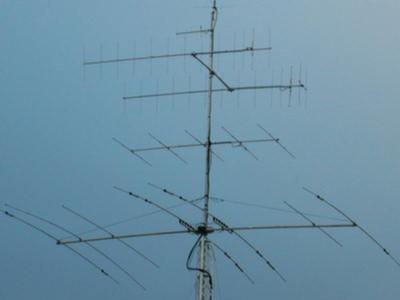 V44KAI Joel Liburd, Basseterre, Saint Kitts Island, Saint Kitts and Nevis. Antennas.