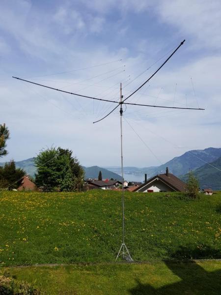 HB2NW Nidwalden, Switzerland. Antenna