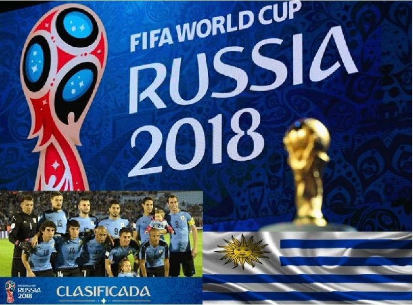 CW18FWC Montevideo, Uruguay. FIFA Football World Cup 2018 Russia