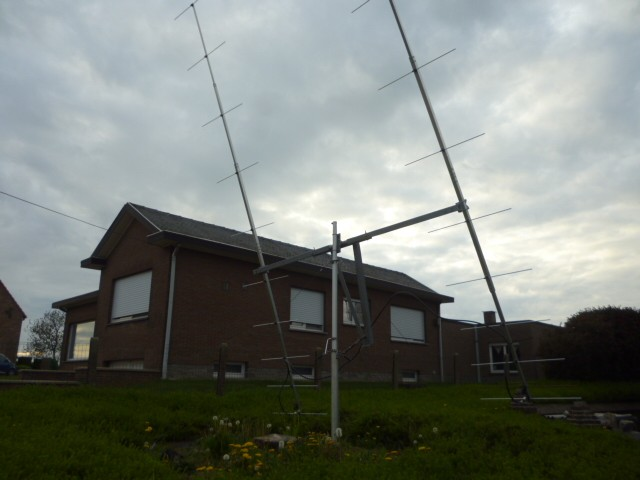 C8T Mozambique EME Antennas ON4AMX