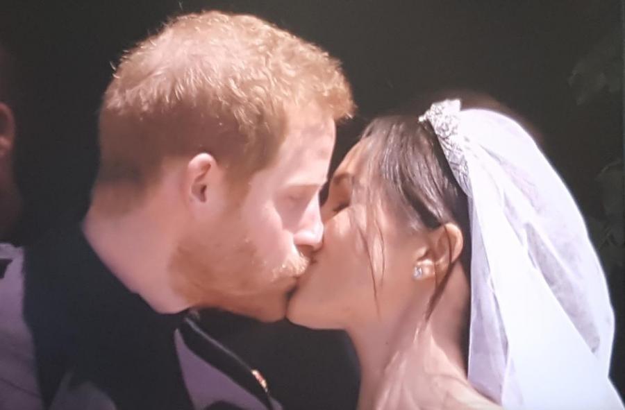 GR6EES Royal Wedding. HRH Prince Harry Miss Meghan Markle.