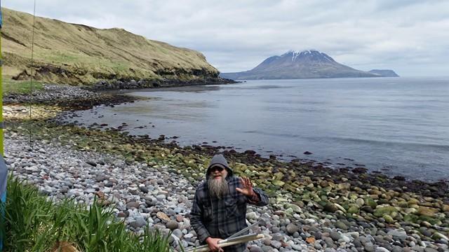 KL7RRC/P Kagamil Island, Alaska. Tim, NL8F