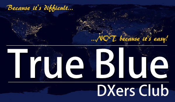 True Blue DXers Club Logo