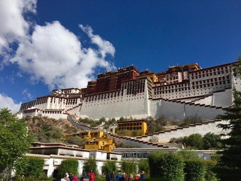B0/BI8CKU B0/BI8DJW Potala Palace, Lhasa, Tibet