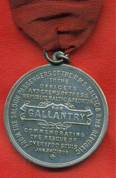 GB0CQD Marconi CQD Medal