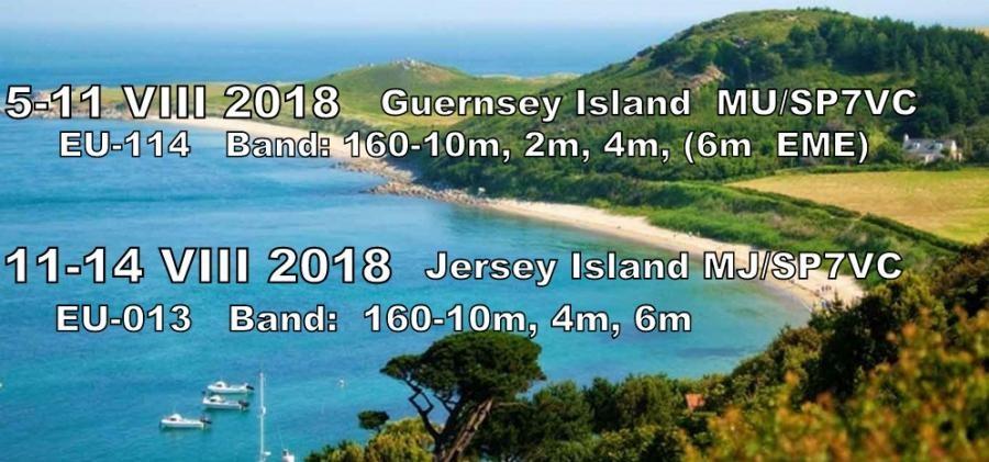 MU/SP7VC MJ/SP7VC Guernsey Island Jersey Island