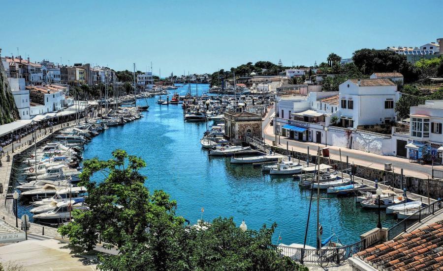 EA6/IW1FRD Puerto de Ciutadella, Menorca, Balearic Islands.
