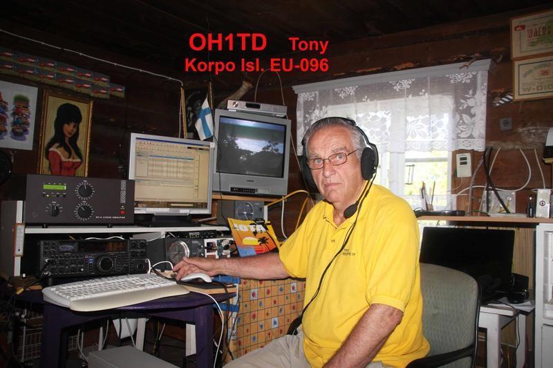 OH1TD Tauno Karvo, Korpo Island, Finland