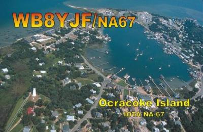 WB8YJF/4 Ocracoke Island IOTA NA - 067
