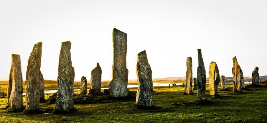 GM4AGG/P Calanais Stone Circle, Isle of Lewis, Scotland.