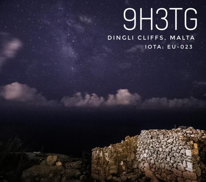 9H3TG Dingli Cliffs, Malta