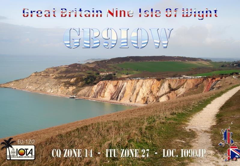 GB9IOW Isle of Wight IOTA EU - 120