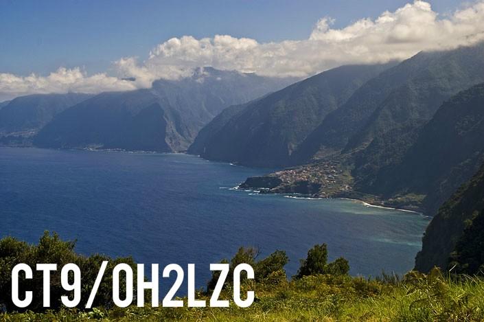 CT9/OH2LZC Madeira Island