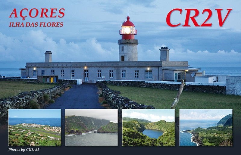 CR2V Flores Island IOTA EU - 089 QSL
