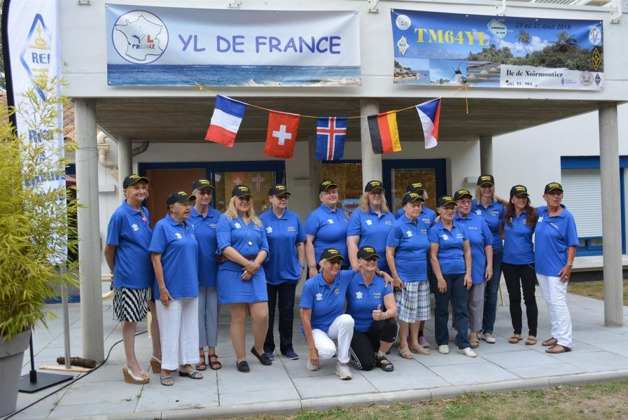 TM64YL Noirmoutier Island YL IOTA Expedition