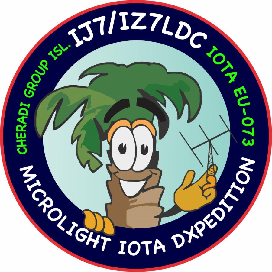 IJ7/IZ7LDC San Pietro Island, Cheradi Islands. Logo