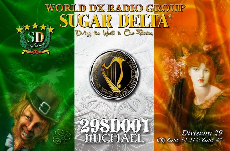 29SD001 Ireland Sugar Delta DX Group