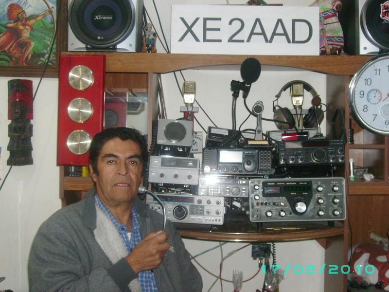 XE2AAD Javier de Leon Caldera, San Angel, Mexico