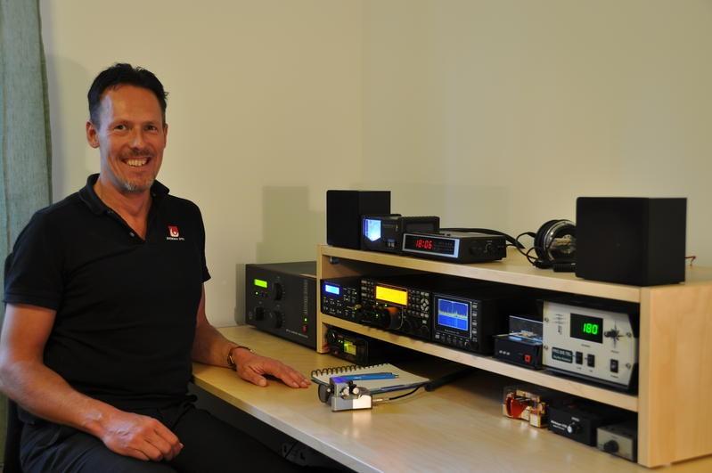 SM1IRS Anders Stenberg, Havdhem, Gotland Island Radio Room Shack
