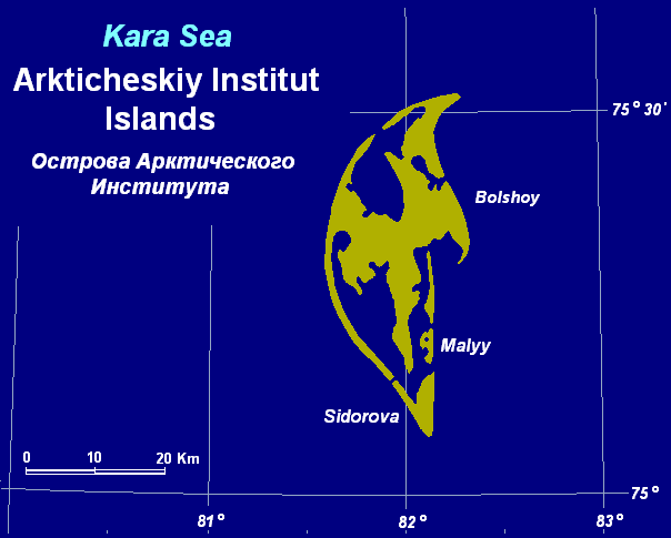 RI0B Arkticheskiy Institut Islands