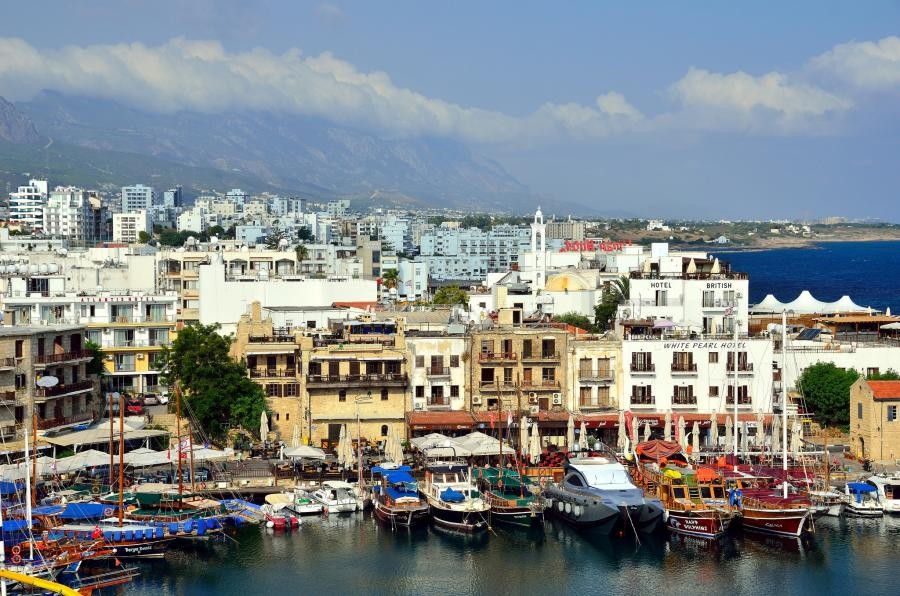 1B/DH8WLA Kyrenia Harbour, Northern Cyprus, Cyprus.