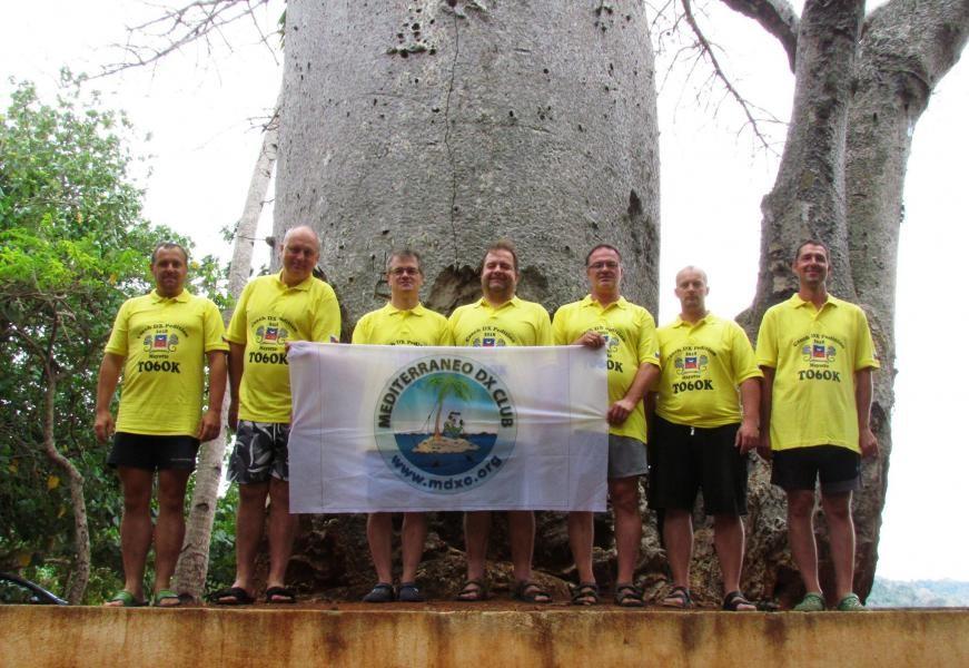 TO6OK Mayotte Islands Team 2