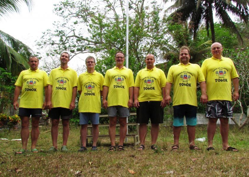 TO6OK Mayotte Islands Team 5