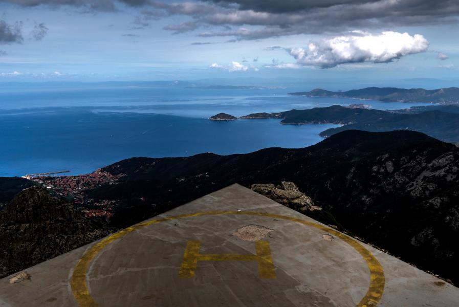 IA5/HB9EIV/P Monte Capanne, Elba Island.