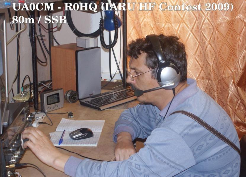 UA0CM Sergey Bogin, Sovetskaya Gavan, Russia