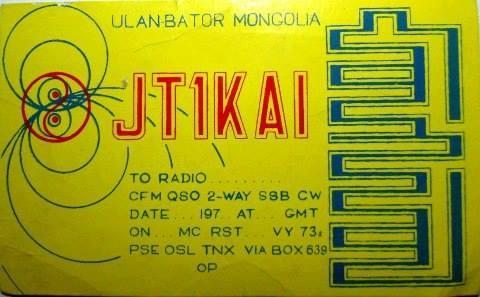 JT1KAI Ulaanbaatar, Mongolia