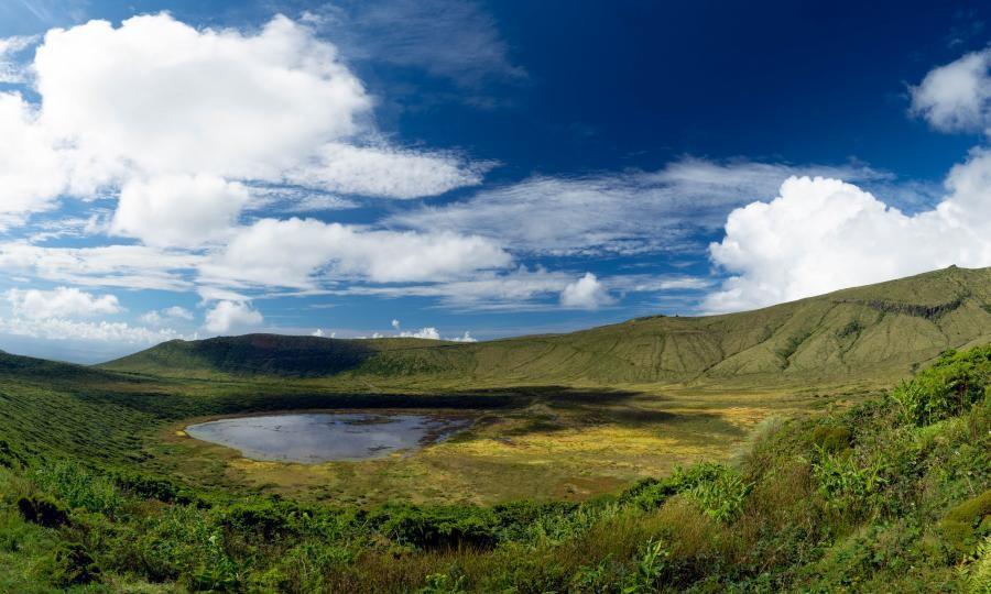 CU8FN Caldaira Seca, Lagoa Seca. Flores Island. Azores.