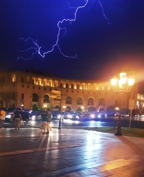 EK7AF Republic Square, Yerevan, Armenia
