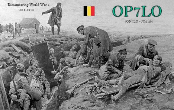 OP7LO Louis Wyns, Berlaar, Belgium