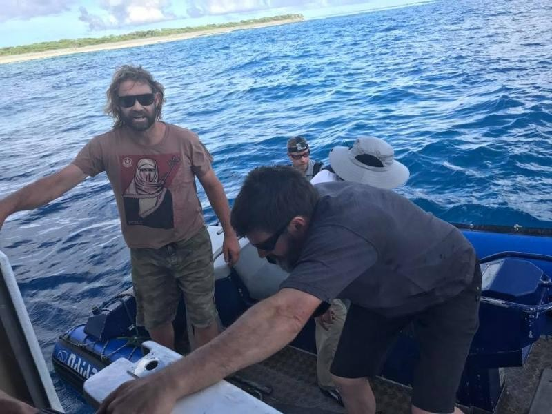 VP6D Ducie Island boat