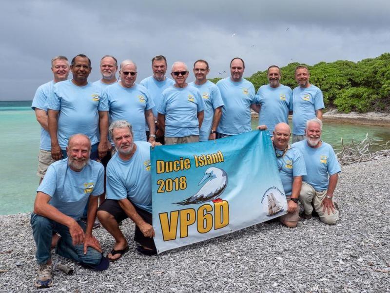 VP6D Ducie Island DX Pedition Ducie Island Team before leaving Ducie Island