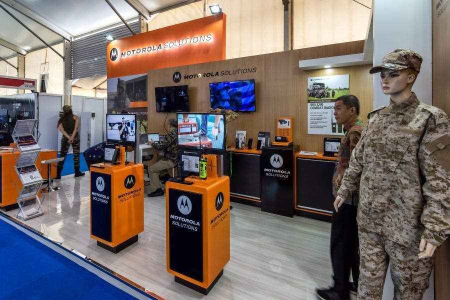 Indo Defence 2018 Motorola