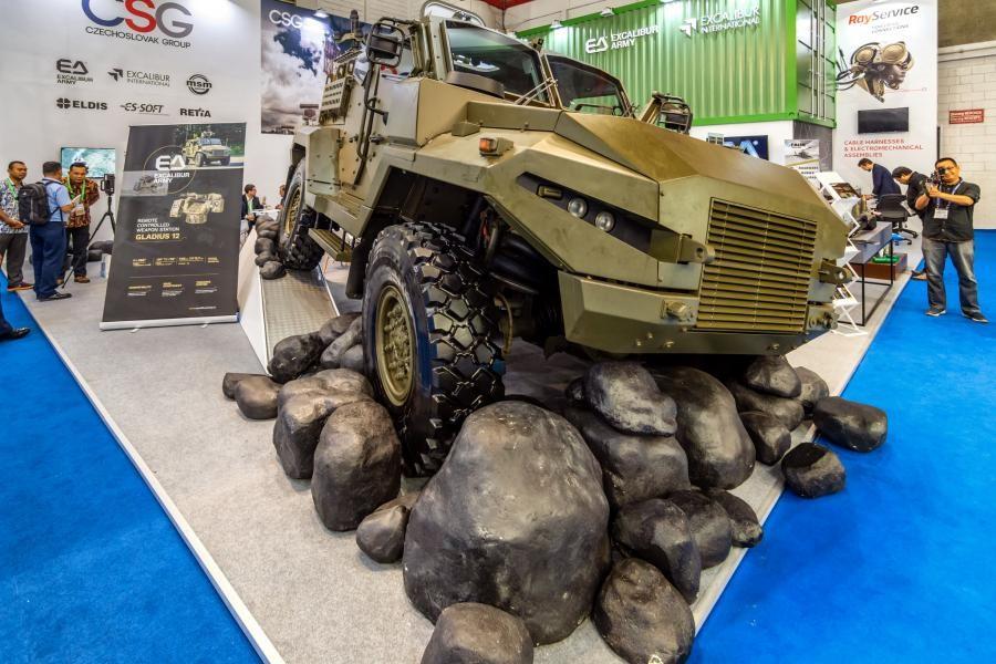 Indo Defence 2018 CSG CZECHOSLOVAK GROUP
