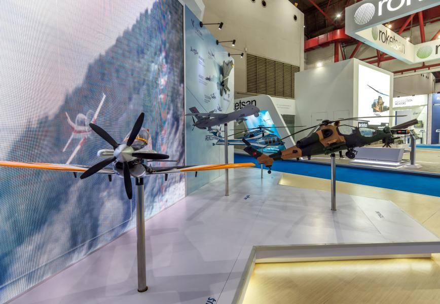 Indo Defence 2018 Turkish UAVs