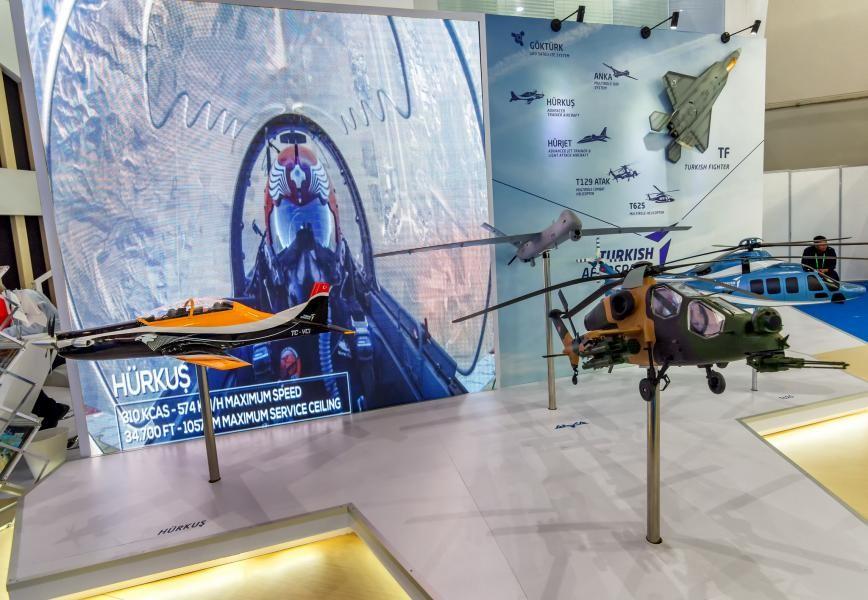 Indo Defence 2018 HURKUS, Turkey