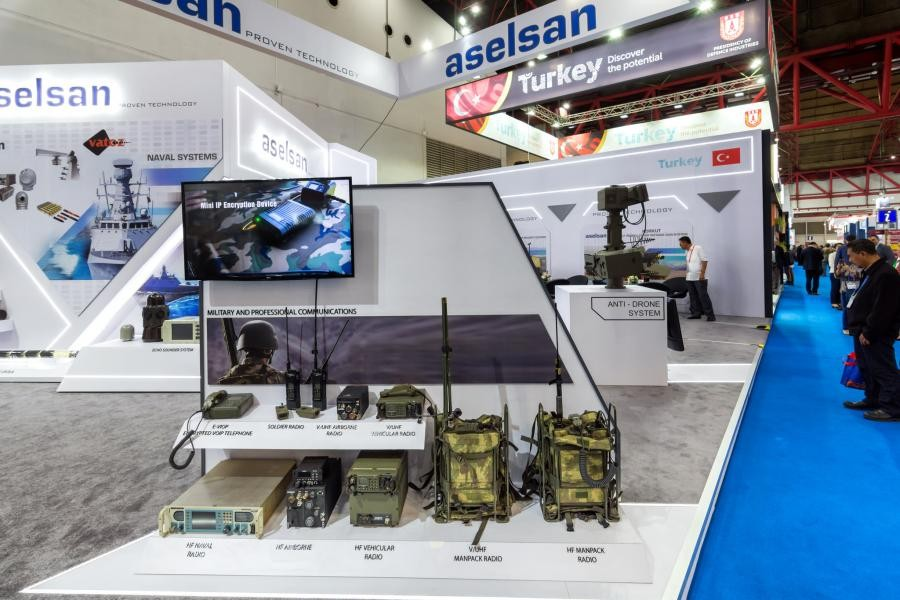 Indo Defence 2018 aselsan