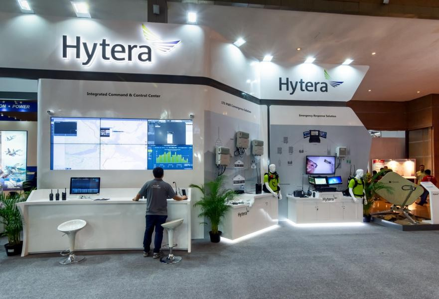 Indo Defence 2018 Hytera