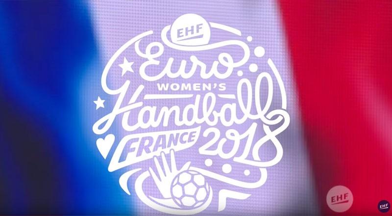 TM18EHF European Womens Handball Championship, France