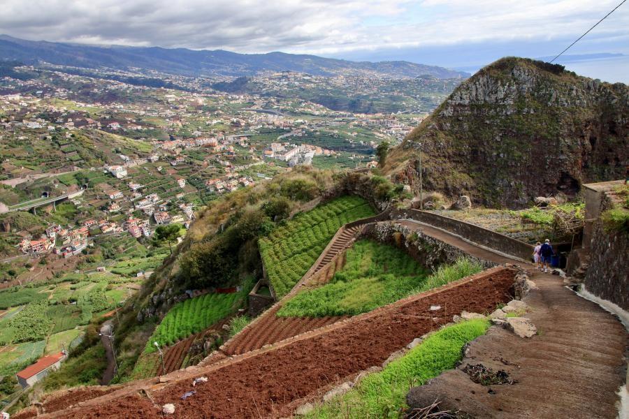 CT9/UZ5DX Hike from Cabo Girao to Camara de Lobos, Madeira Island
