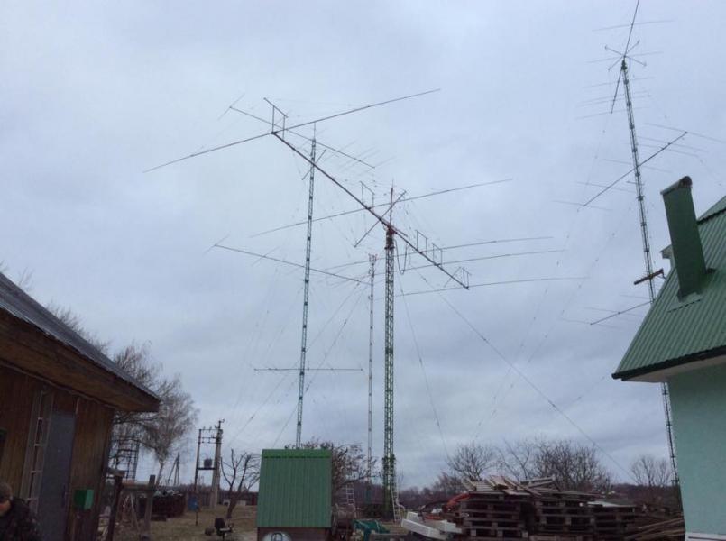 RM3F Nastasyino, Russia. CQ WW DX CW Contest 2018. Antennas.