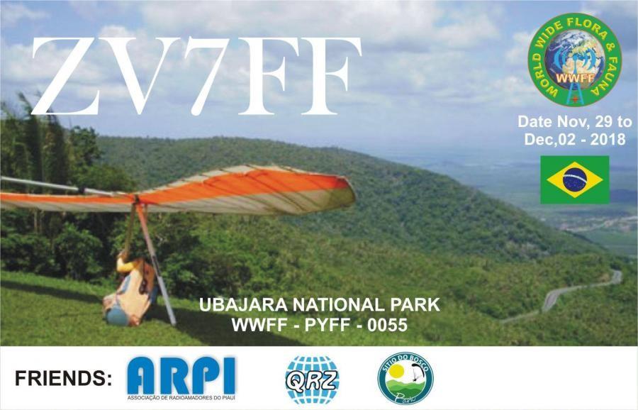 ZV7FF Ubajara National Park, Brazil. Banner.
