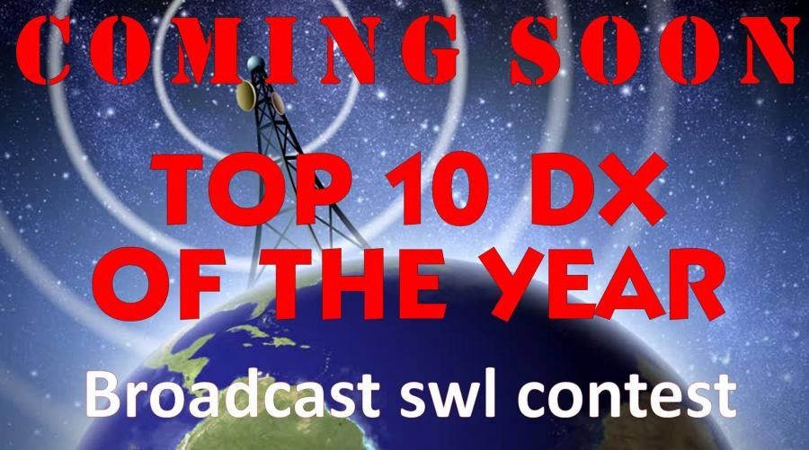 The TOP DX Radioclub TOP 10 DX of The Year Broadcast SWL Contest