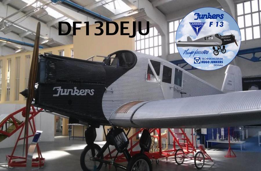 DF13DEJU Dessay Rosslau, Germany Junkers F 13