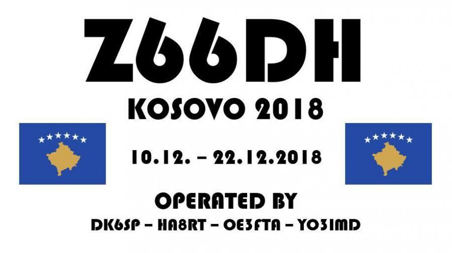 Z66DH Kosovo DX Pedition Logo